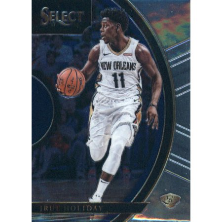 Moms Ball New Orleans Halloween (2017-18 Panini Select #16 Jrue Holiday New Orleans Pelicans Basketball)
