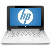 "Refurbished HP Blizzard White 11.6"" Stream 11-p015wm X360 Laptop PC with Intel Celeron N2840 Dual-Core Processor, 2GB Memory, touch screen, 32GB eMMC and Windows 8.1"