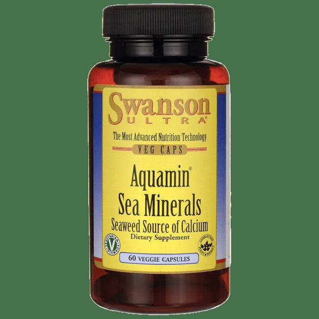 Swanson Aquamin Sea Minerals: Red Mineral Algae 60 Veg Caps