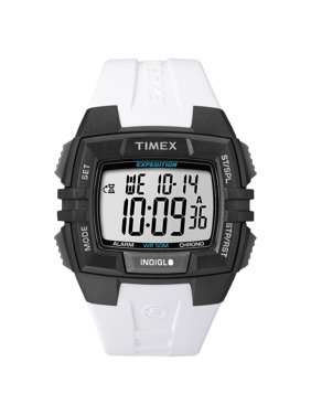 Expedition Running Indiglo Digital Water Resistant Stop Wrist Watch T49901