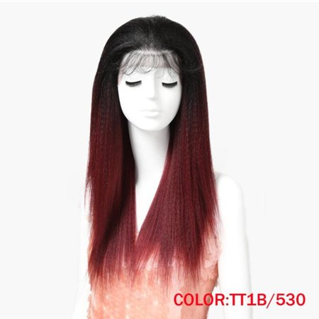 Noble Hair Lace Front Wig 26 1B Color Inch long Lace Front Straight Synthetic Wigs for Women Heat Resistant Free Shipping (Heat Resistant Wigs Lace Front)