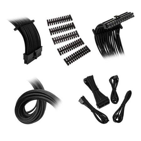 Extension Cable Kit - Bitfenix Alchemy 2.0 Extension Cable Kit - Black (BFX-ALC-EXTKK-RP)