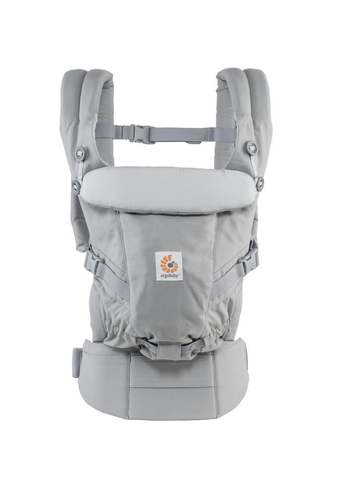 Ergo Baby Adapt Baby Carrier Pearl Grey by Ergo Baby