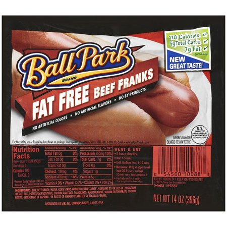Ball Park All Beef Hot Dogs