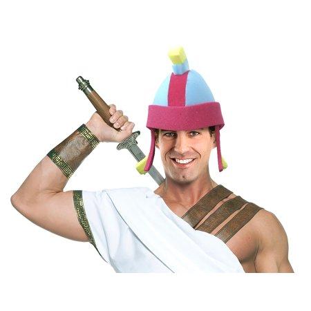Roman Centurion Helmet Adult Foam Costume Hat - One Size (Roman Helmets)