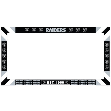 Oakland Raiders Big Game Monitor Frame - No Size