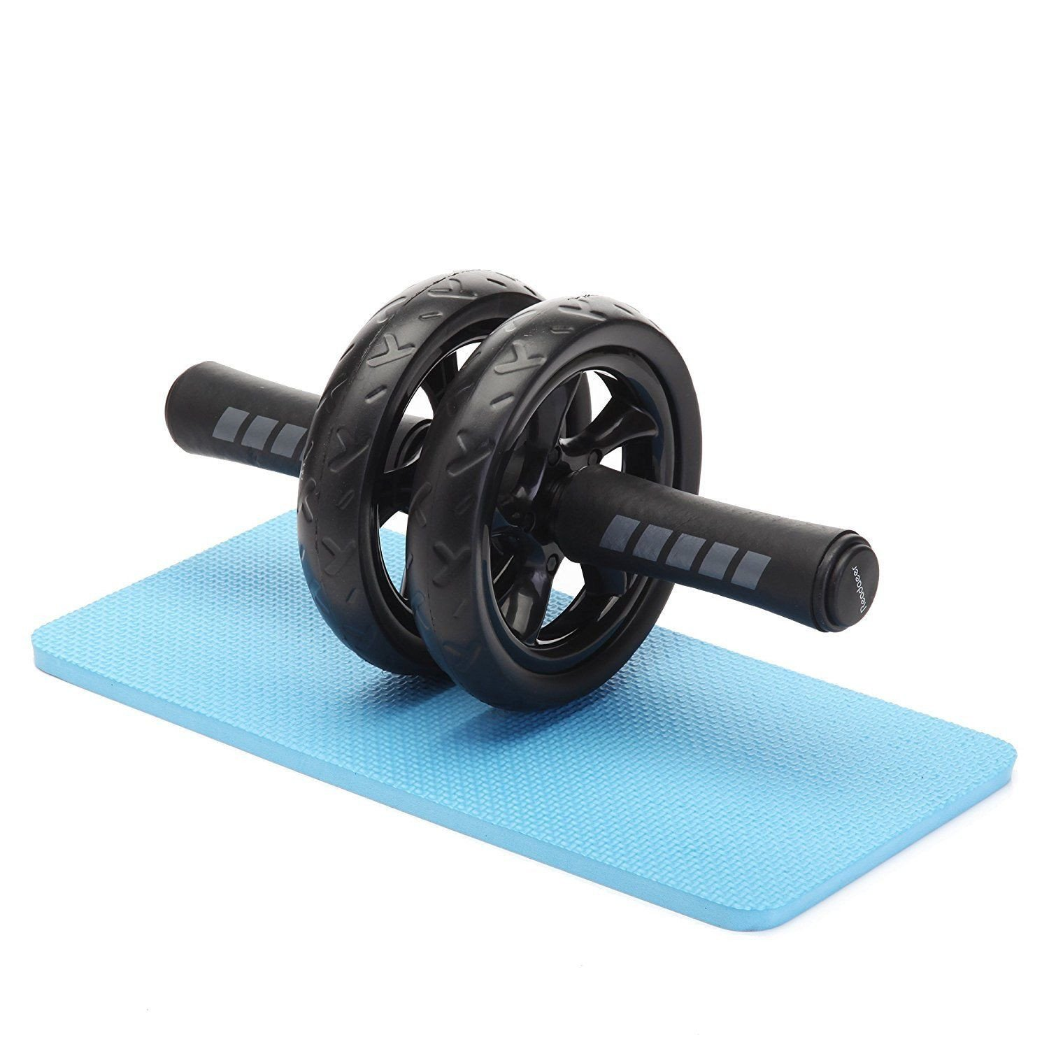 Roller Wheel Speed Abdominal fitness equipment Workout well and mat by