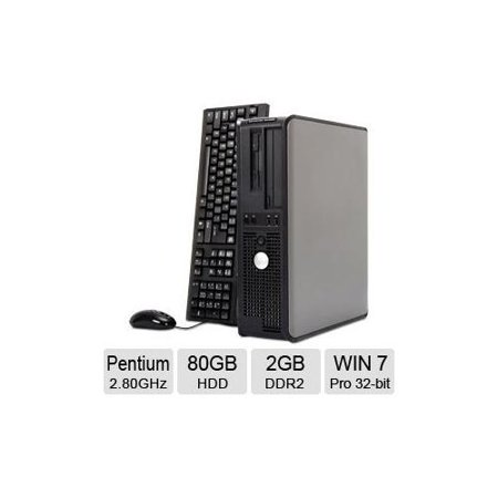 Refurbished Dell OptiPlex 620 Desktop PC - Intel Pentium 2 80GHz