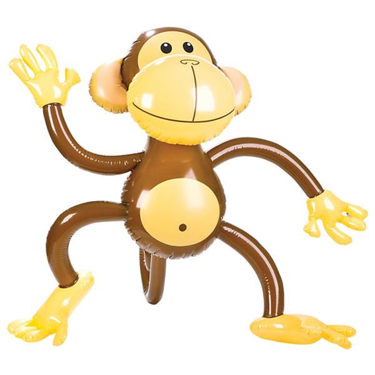 58cm Inflatable Monkey Novelty Outdoor Toy Party Kids Chimp Beach Blow Up
