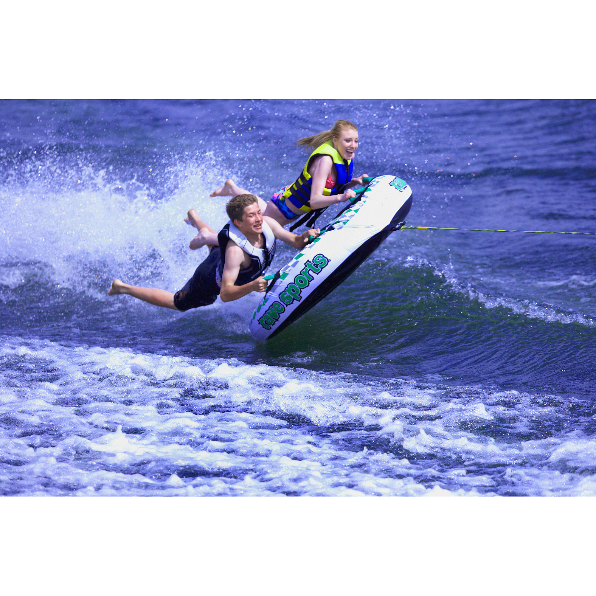 Rave Sports Frantic 2-Person Tapered Deck Towable by Rave Sports