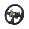 """Thrustmaster 599XX EVO 30 Wheel Add-On Alcantara Edition Race in style and comfort with the 599XX EVO 30 Wheel Add-On Alcantara Edition from Thrustmaster. This 11.8"""" racing wheel is a 8:10 replica of the Ferrari 599XX EVO's wheel and is officially licensed by Ferrari. It features hand-stitched wrapping–crafted from the same Alcantara material that is used on Ferrari wheels for better grip and handling. The wheel has two wheel-mounted paddle shifters, six easy-access buttons, a three-position rotary switch, and a multi-directional D-pad. Additionally it is compatible with all Thrustmaster T-Series racing wheels and has a quick-release system for easy detachment and replacement. The 599XX Evo racing wheel is compatible with PlayStation 3, PlayStation 4, Xbox One, and, with an additional downloadable driver, Windows PCs."""