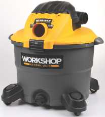 ProTeam Workshop 12 Gallon, 5.0 Peak Hp Wet/Dry Vacuum Wi...