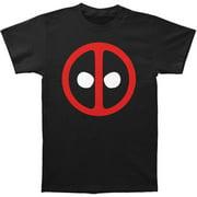 Deadpool Men's  Logo Slim Fit T-shirt Black