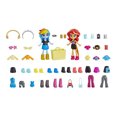 My Little Pony Equestria Girls Squad Rainbow Dash and Sunset Shimmer