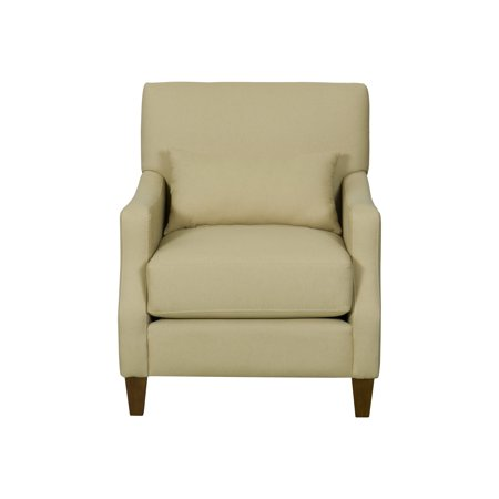 Taupe Accent Chairs.Homepop Pillowtop Edwin Accent Chair Taupe