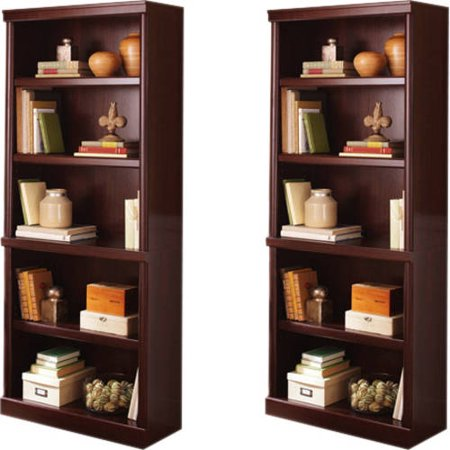 Better Homes And Gardens Ashwood Road 5 Shelf Bookcase Set Of 2 Mix And Match