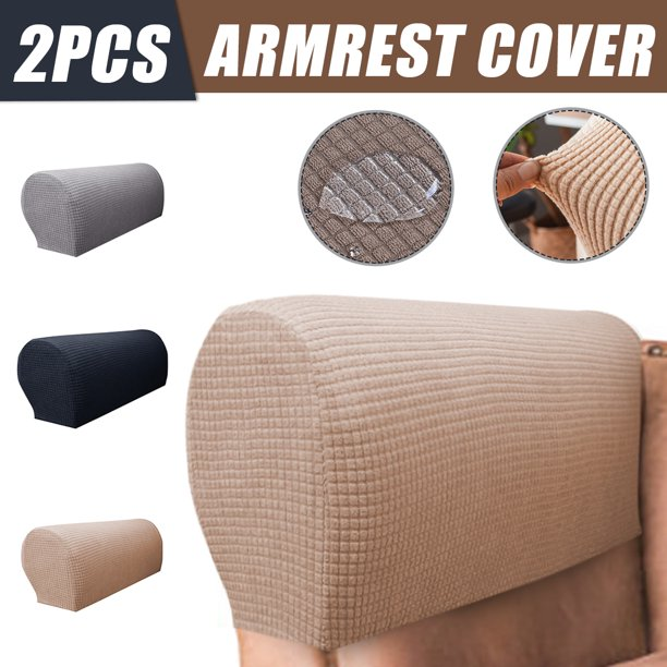 2pcs Waterproof Stretch Furniture Armrest Covers ...