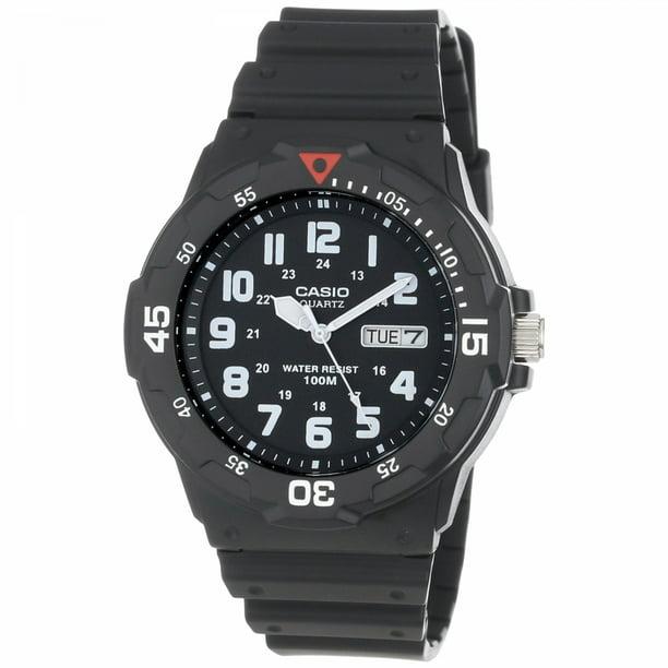 Casio Men's Black Dive-Style Sport Watch