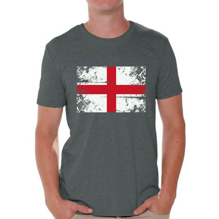 Awkward Styles England Flag Shirt for Men English Soccer 2018 Tshirt Gifts from England Flag of England English Men England Shirts for Men England 2018 Tshirt English Gifts for Him English Flag Tshirt