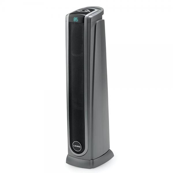 lasko ceramic tower heater lasko 5572 oscillating ceramic tower heater with remote 30790