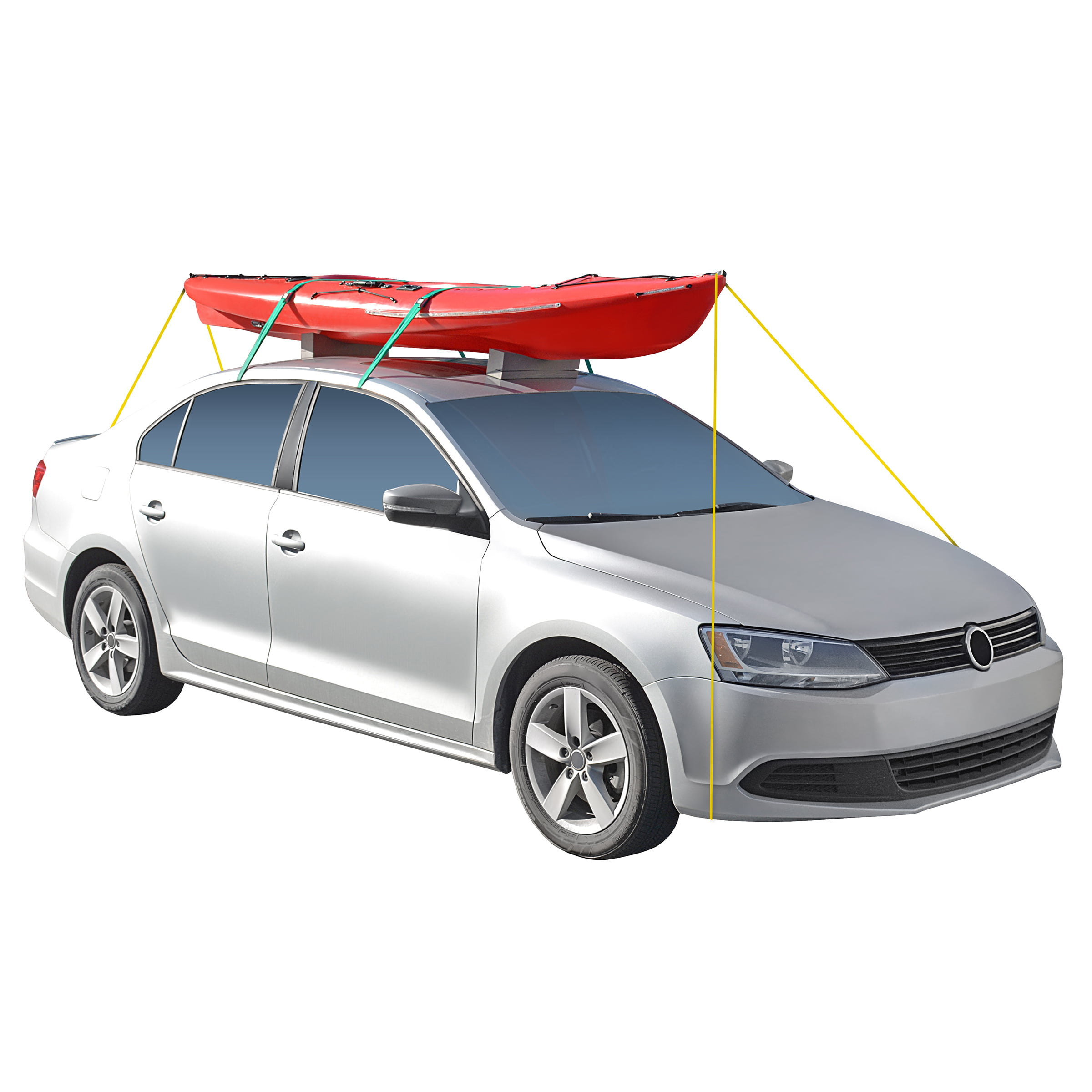 Propel Paddle Gear Universal Kayak Car Top Carrier Kit by Shoreline Marine