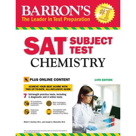 Barron's SAT Subject Test: Chemistry with Online