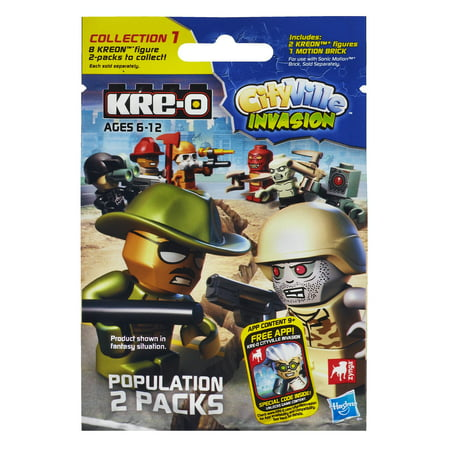 KRE-O CityVille Invasion - Population Pack Series 1 (A4963) (All American Kre Alkalyn)