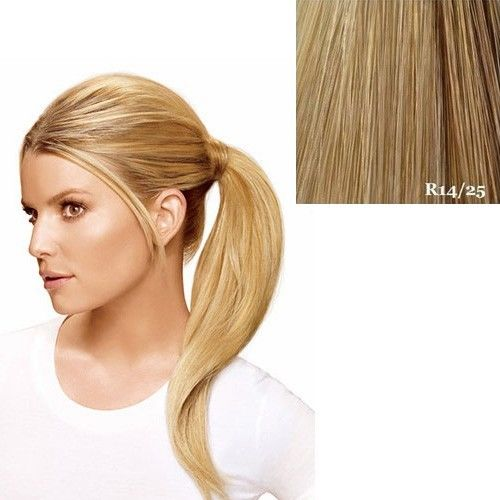 """Hairdo 18"""" Wrap Around Pony by Jessica Simpson Ken Paves Extensions R14-25 (Honey Ginger)"""