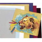 "Hygloss Acid-Free Velour Paper, 42 lb, 8.5"" x 10"", Assorted Colors, 20pk"
