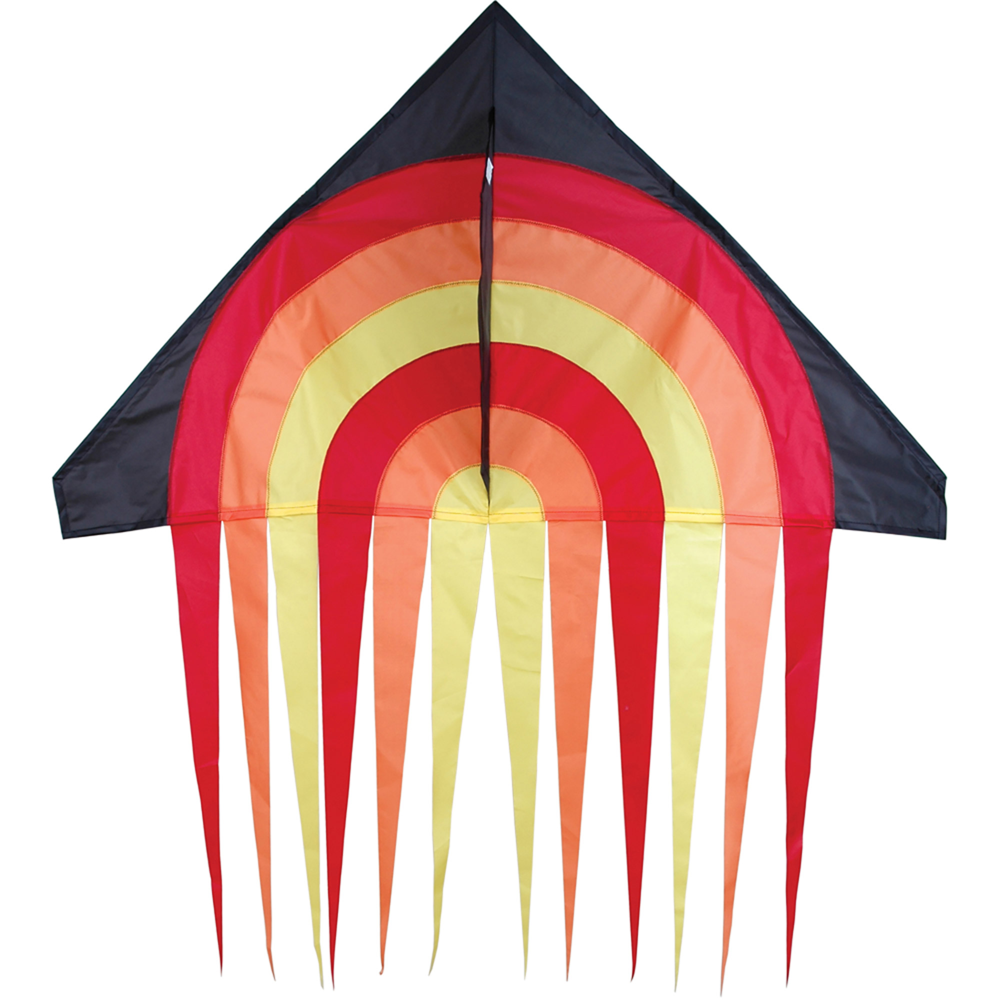 "Premier Designs 56"" Stream Delta Kite, Fire Ball"