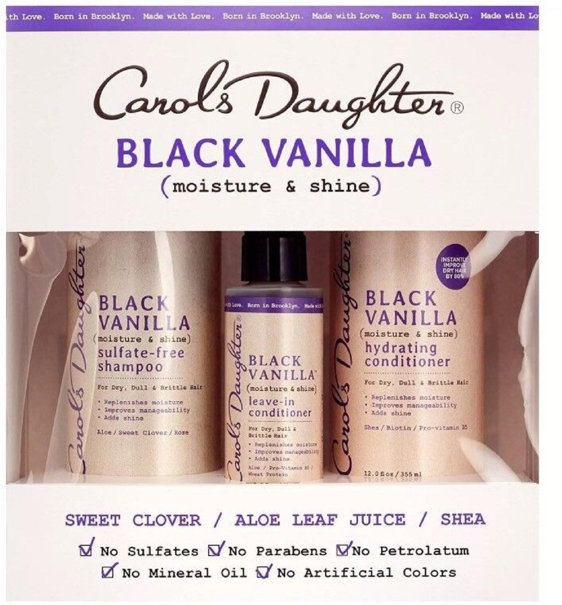 2 Pack - Carols Daughter Black Vanilla Gift Set 3 ea