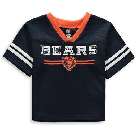 premium selection bc1fe 53f6c Newborn & Infant Navy Chicago Bears Mesh Jersey T-Shirt
