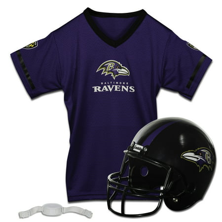 Franklin Sports NFL Team Licensed Helmet Jersey Set