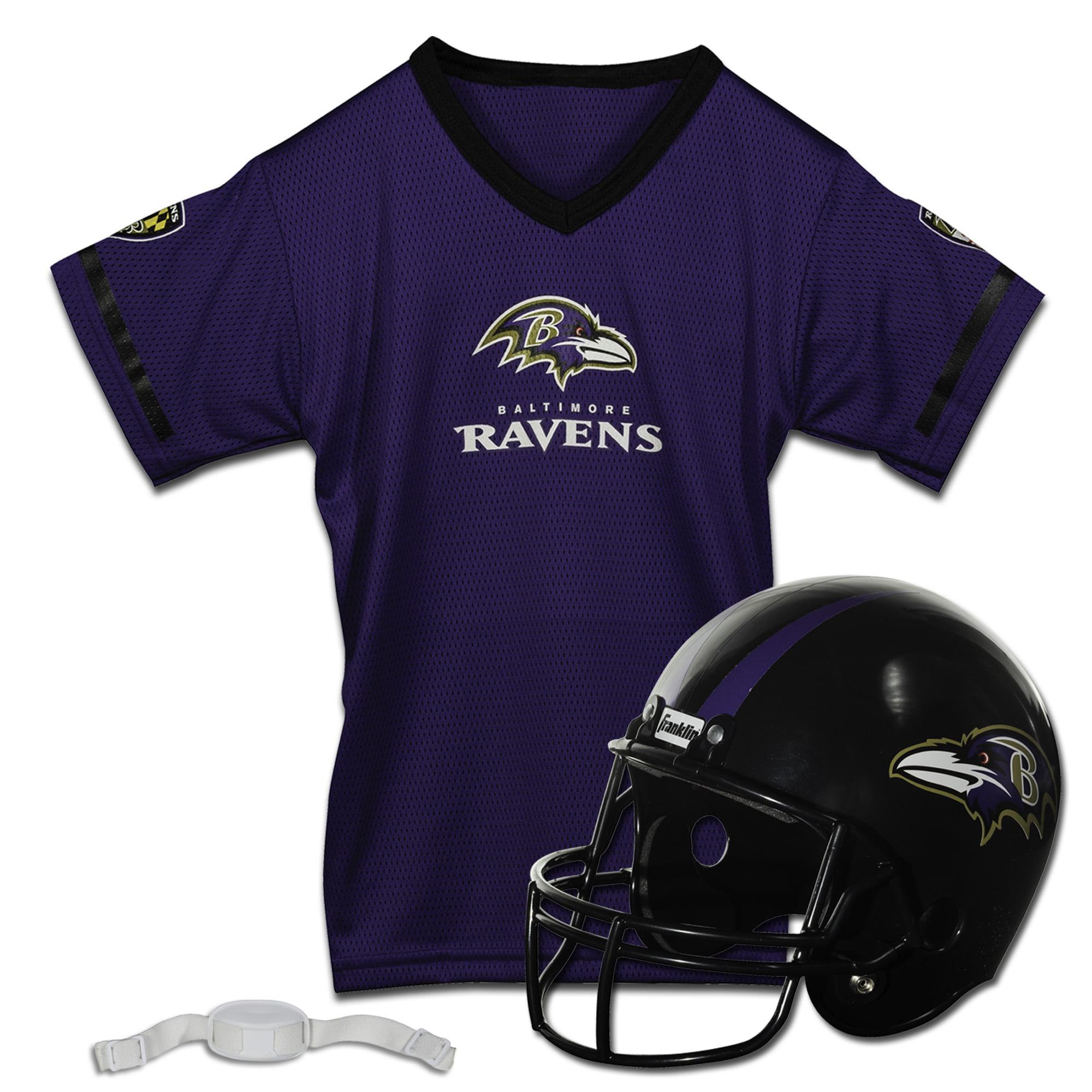 Franklin Sports NFL Team Licensed Helmet Jersey Set