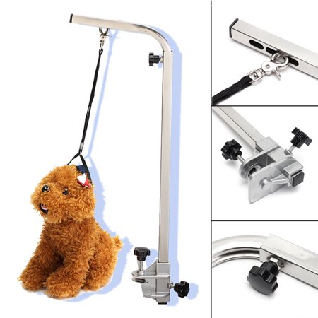 Foldable Portable Adjustable Arm Support For Pet Dog Grooming Bath Table Desk - image 6 of 8
