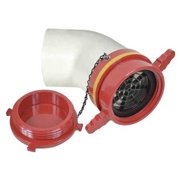 MOON AMERICAN 298-605025 Dry Hydrant 45 Adapter,5 In Female