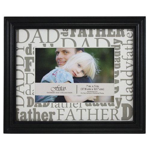 Fetco Home Decor Expressions Macman Dad / Father / Daddy Picture Frame