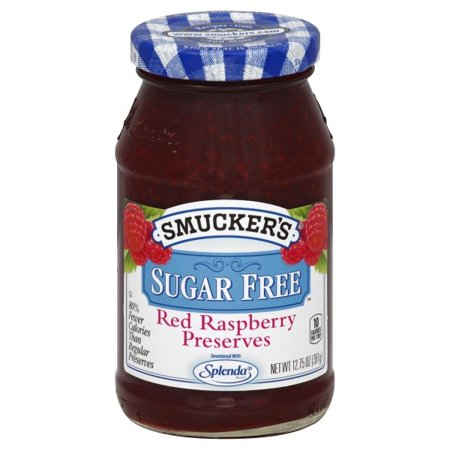 - (2 Pack) Smucker's Sugar Free Light Red Raspberry Preserves, 12.75-Ounce