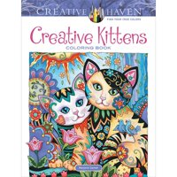 Dover Publications Creative Kittens Coloring Book