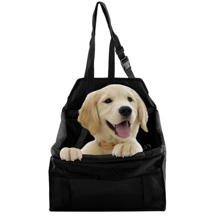 ec1a887b8c08 Portable Folding Pets Dogs Cats Car Seat Safe Carrier Beds Puppy Dog Seat  for Car, Belt Bag Foldable Travel Hammock Pet Sleeping for Outdoor