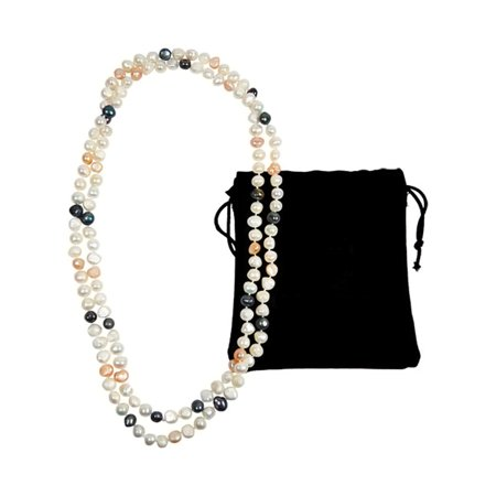 Freeform Baroque Pearl (47 Baroque Pearl Necklace )