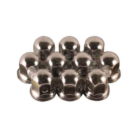 Flg Nuts - NUT COVER 1-18 in. with FLG 10-CD