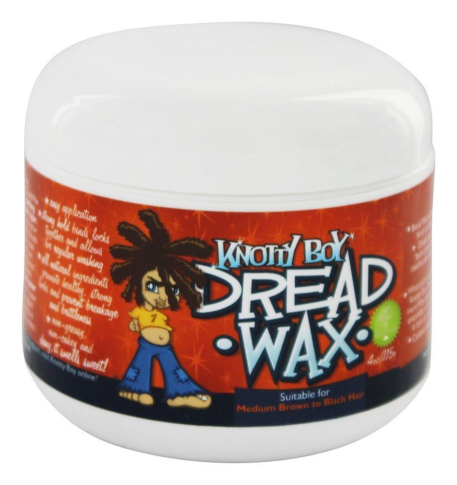 Knotty Boy - Dread Wax Dark Hair - 4 oz.