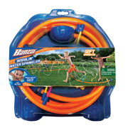 Banzai Wigglin Sprinkler - 12 Foot Long Backyard Outdoor Kids Fun Water Sprinkler