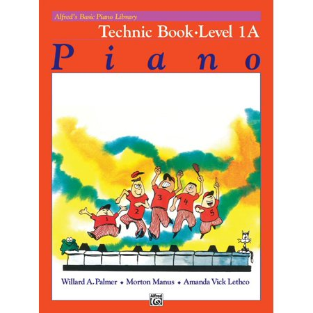 - Alfred's Basic Piano Library: Alfred's Basic Piano Library Technic, Bk 1a (Paperback)
