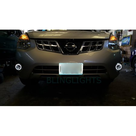 2011 2012 2013 Nissan Rogue Halo Fog Lamps Driving Lights ()