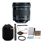 Canon EF-S 10-18mm f/4.5-5.6 IS STM Lens with 67mm UV Protector Filter Bundle