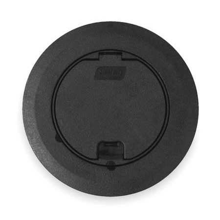 STEEL CITY 68R-CST-BLK Floor Box Cover And Carpet Plate,Black