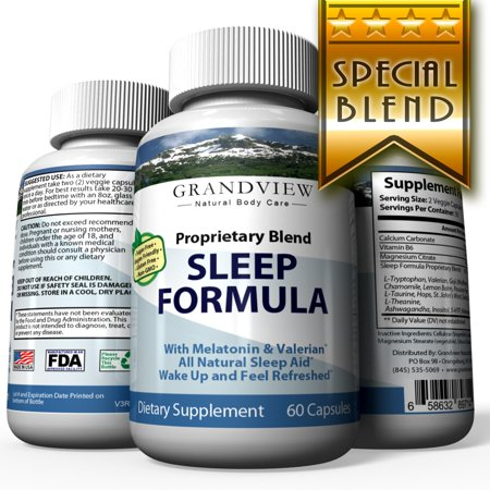 Natural Sleep Aid - Grandview Natural Body Care