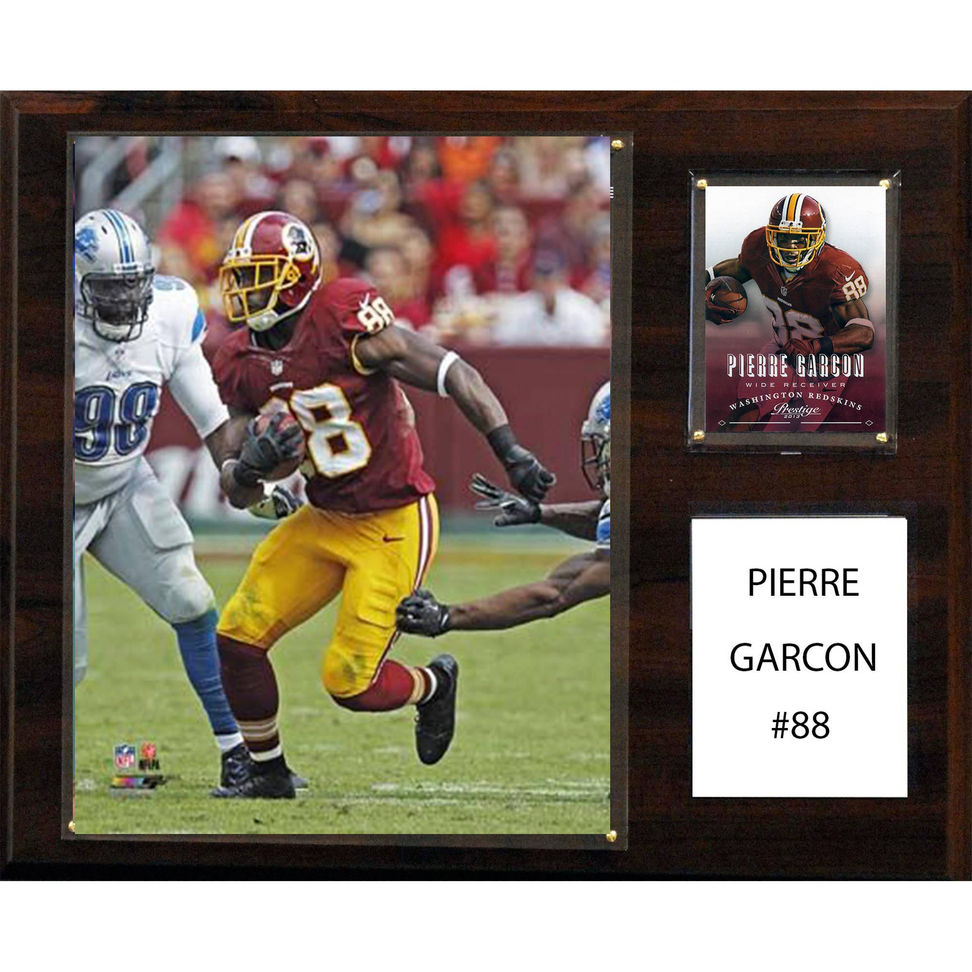 C&I Collectables NFL 12x15 Pierre Garcon Washington Redskins Player Plaque